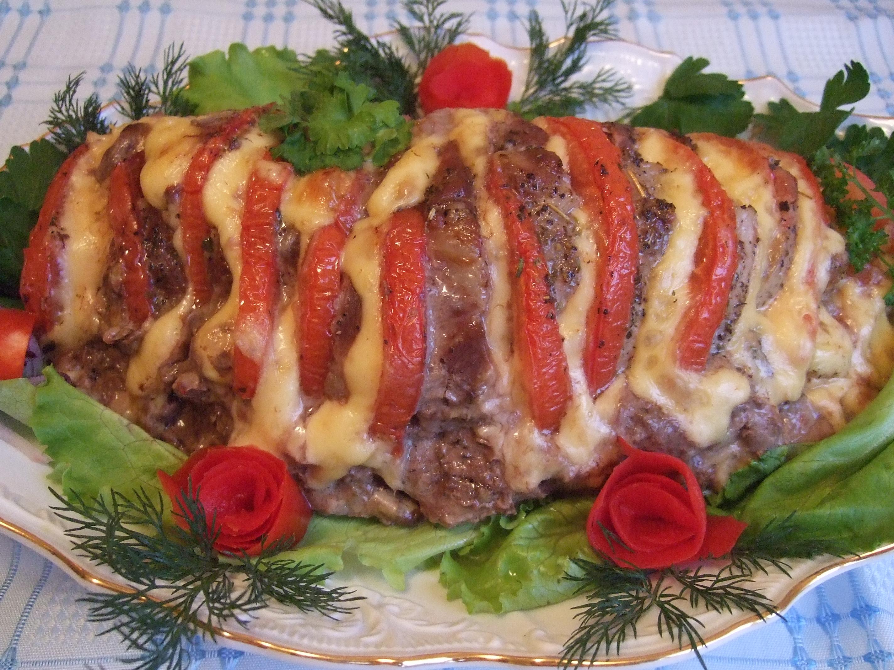 Мясное блюдо на новый год 2017 рецепты с