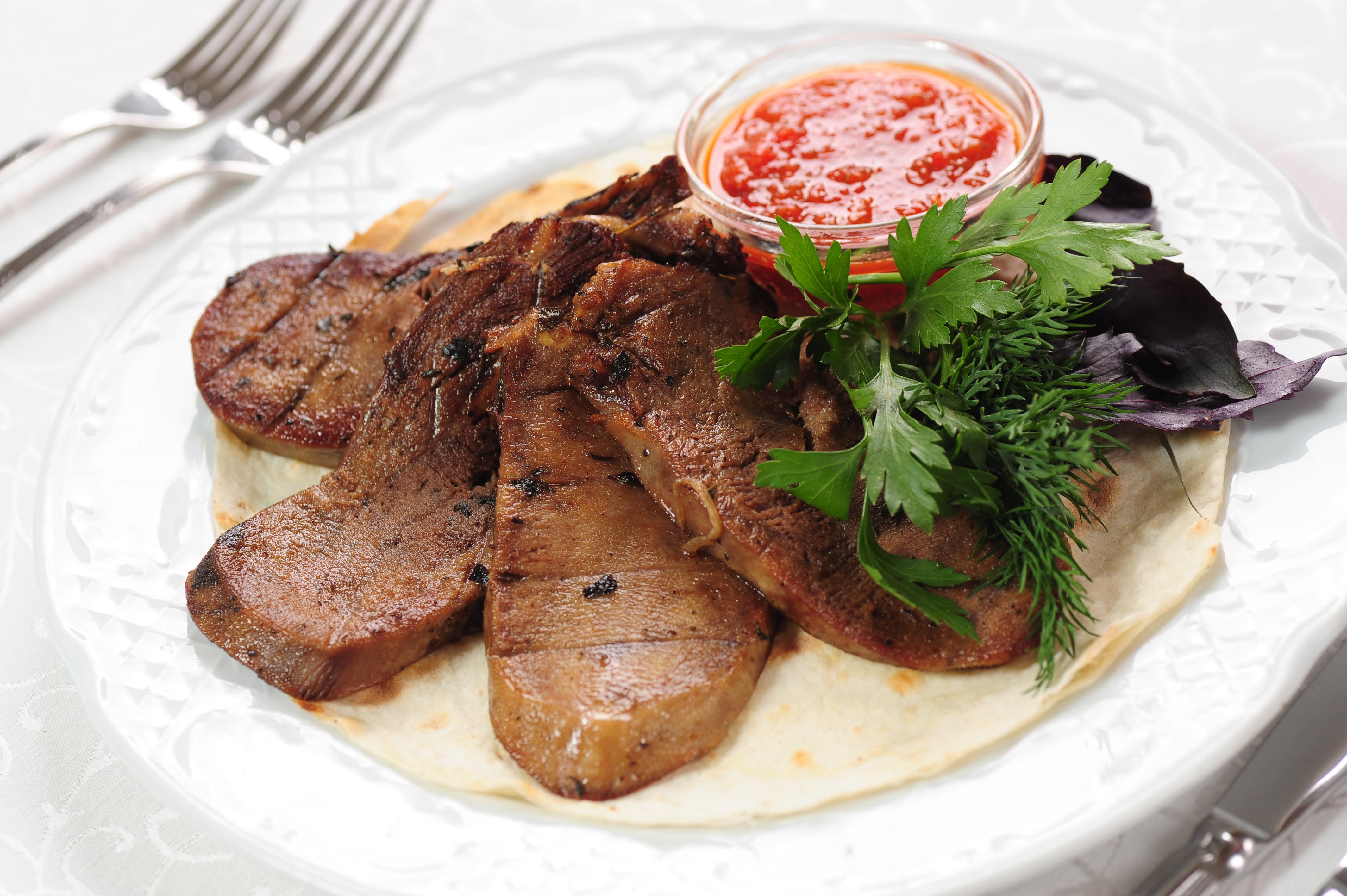 Блюда с языком говяжьим рецепт