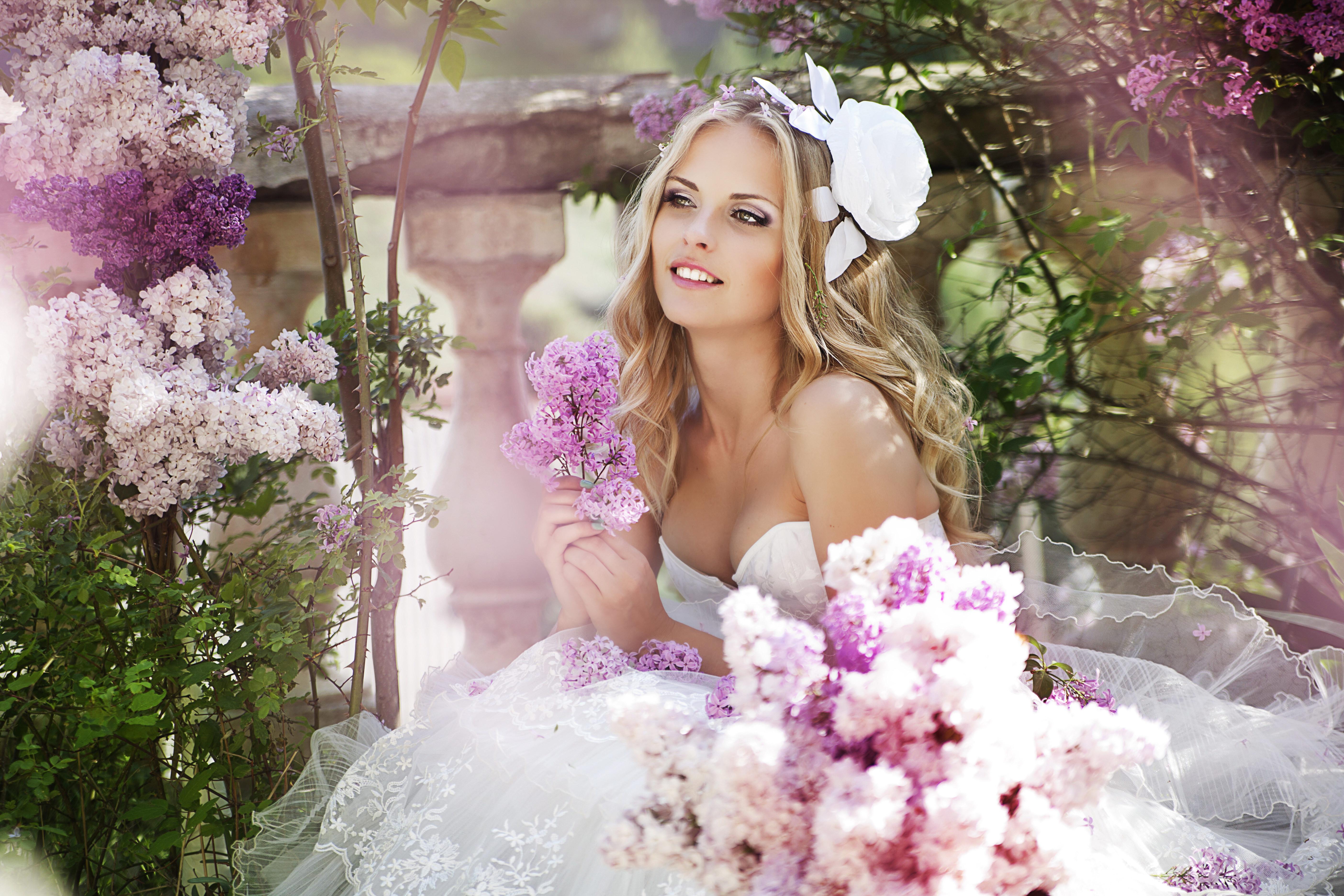 Красивый образ невесты на свадьбу