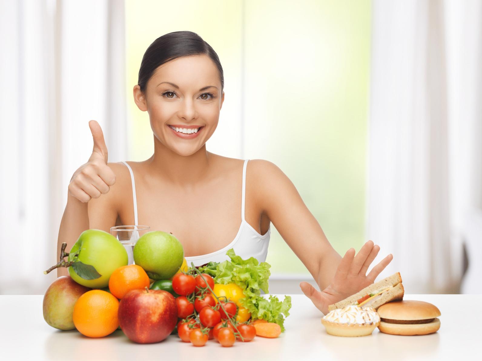 Как похудеть без диет: типичные ошибки худеющих и рецепты