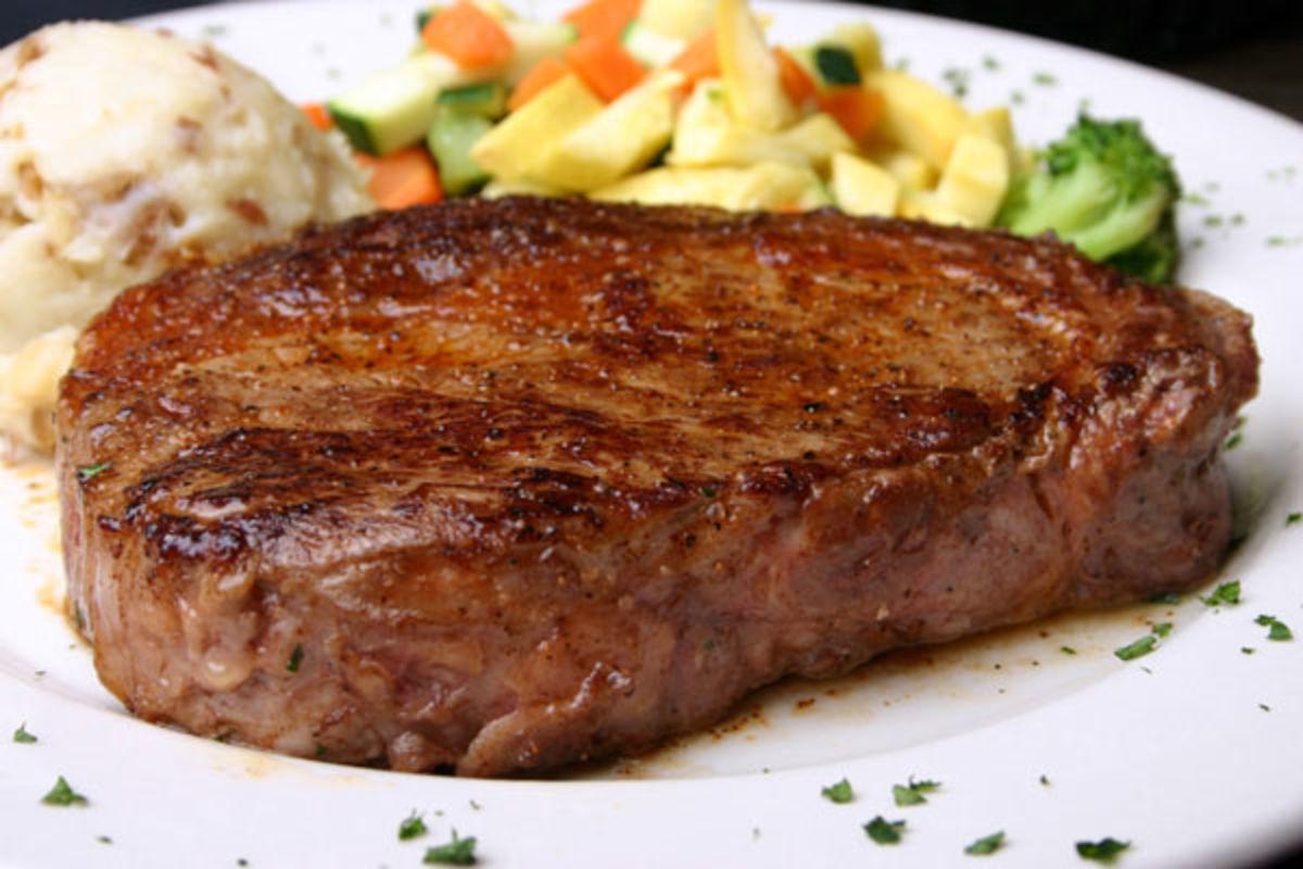 Рецепт жареного мяса на сковороде свинина с луком