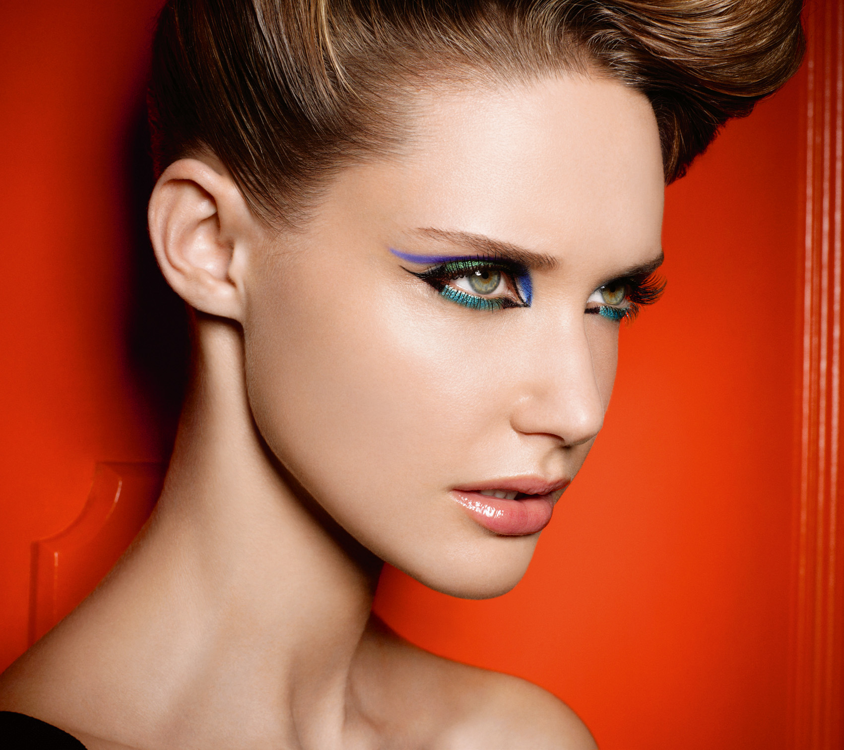 Вечерний макияж по времени