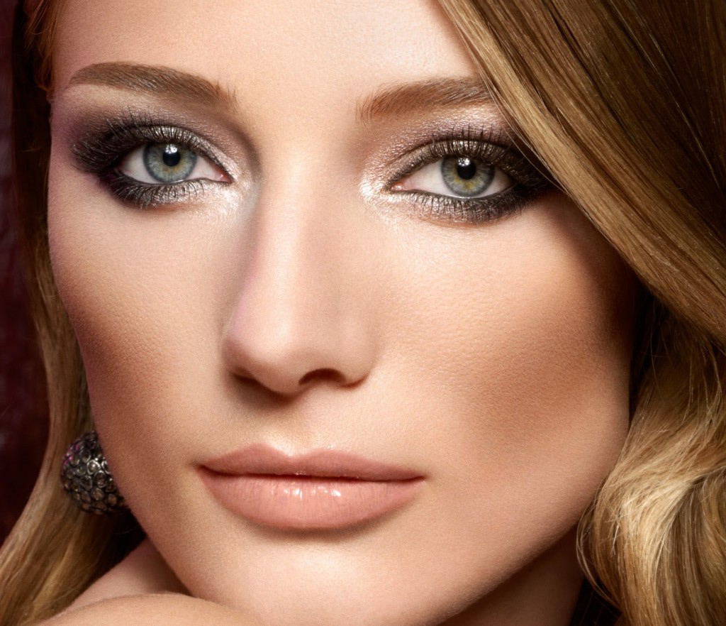 Макияж для светлой кожи и серых глаз с фото