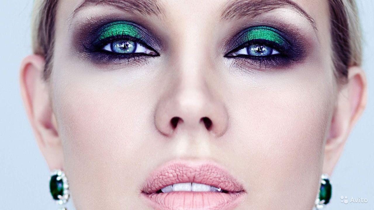 Макияж для 14 лет зеленые глаза