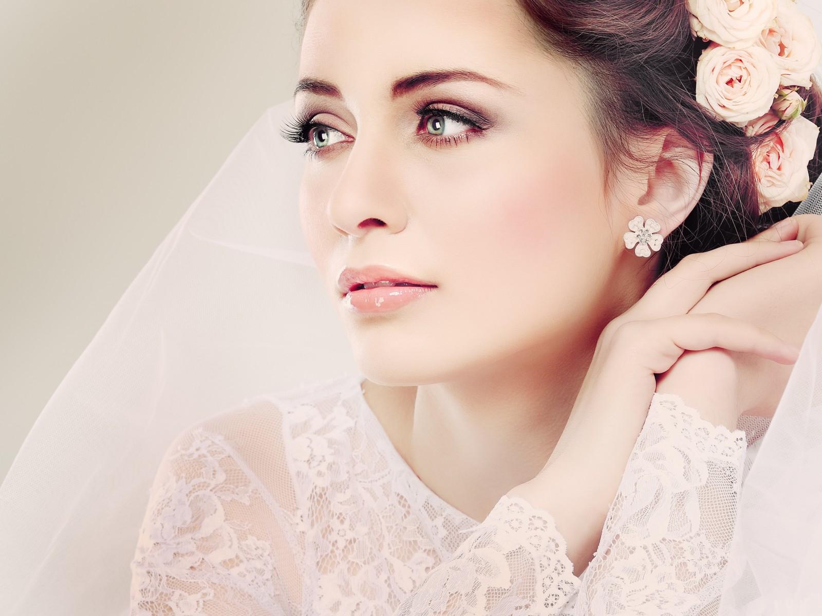 Макияж свадебный фото крупным планом