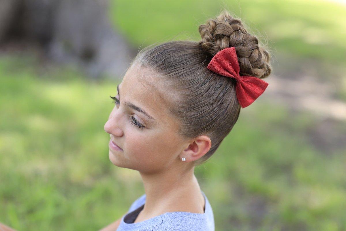Детская прическа как поднять волосы