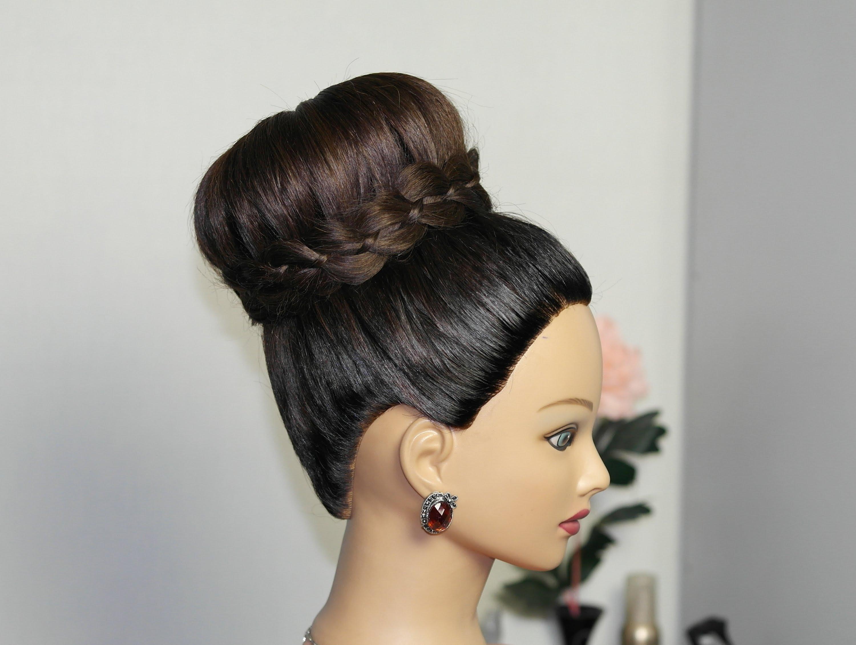 Причёски в виде гульки