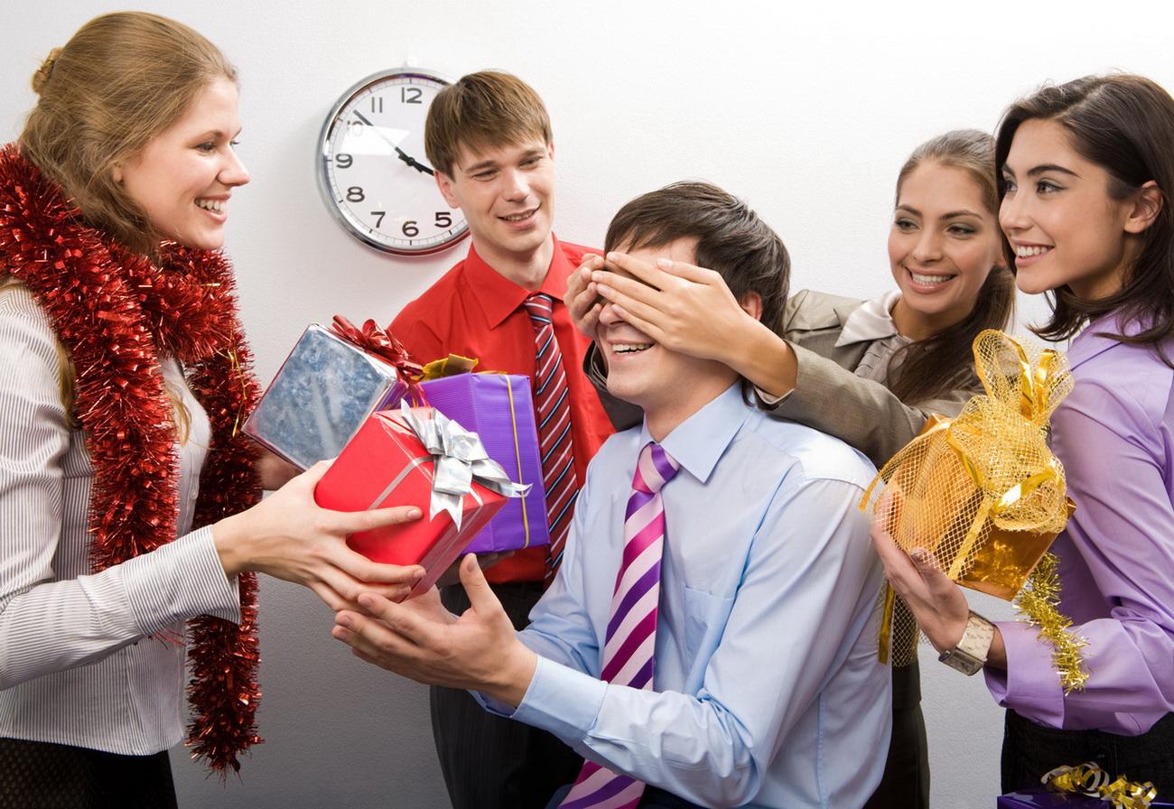 Подарок для коллег по работе на новый год