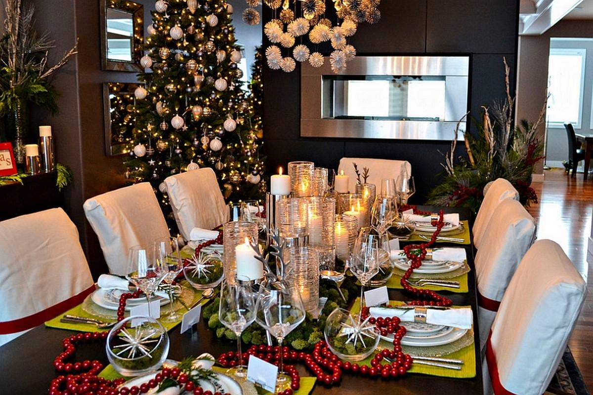 Праздничный стол к новому году 2018 фото