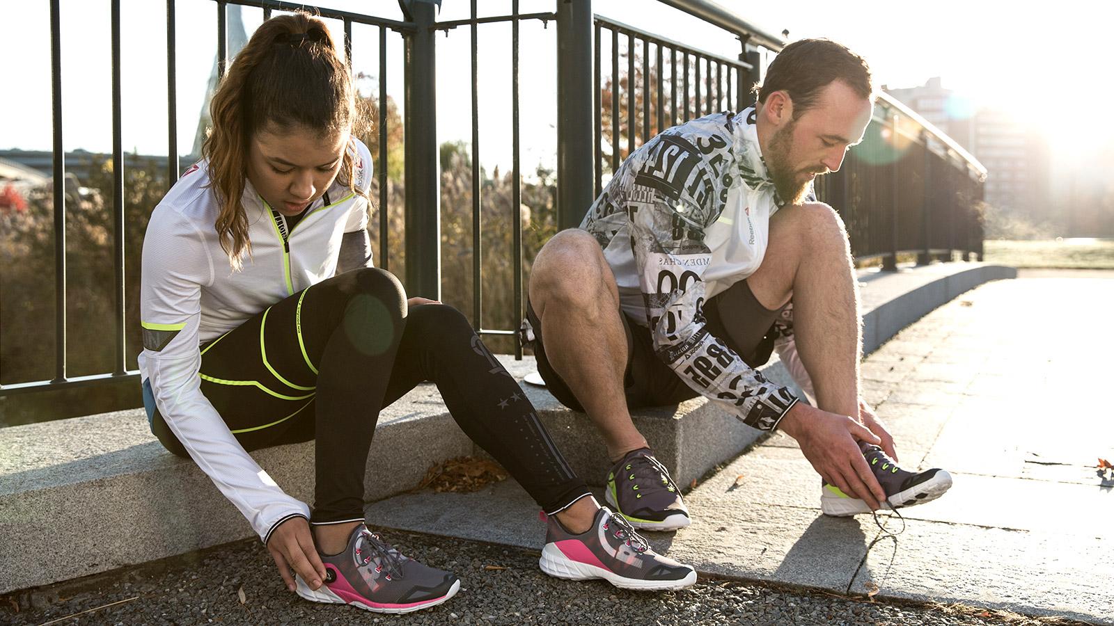 Reebok выпустил кроссовки со встроенным каркасом