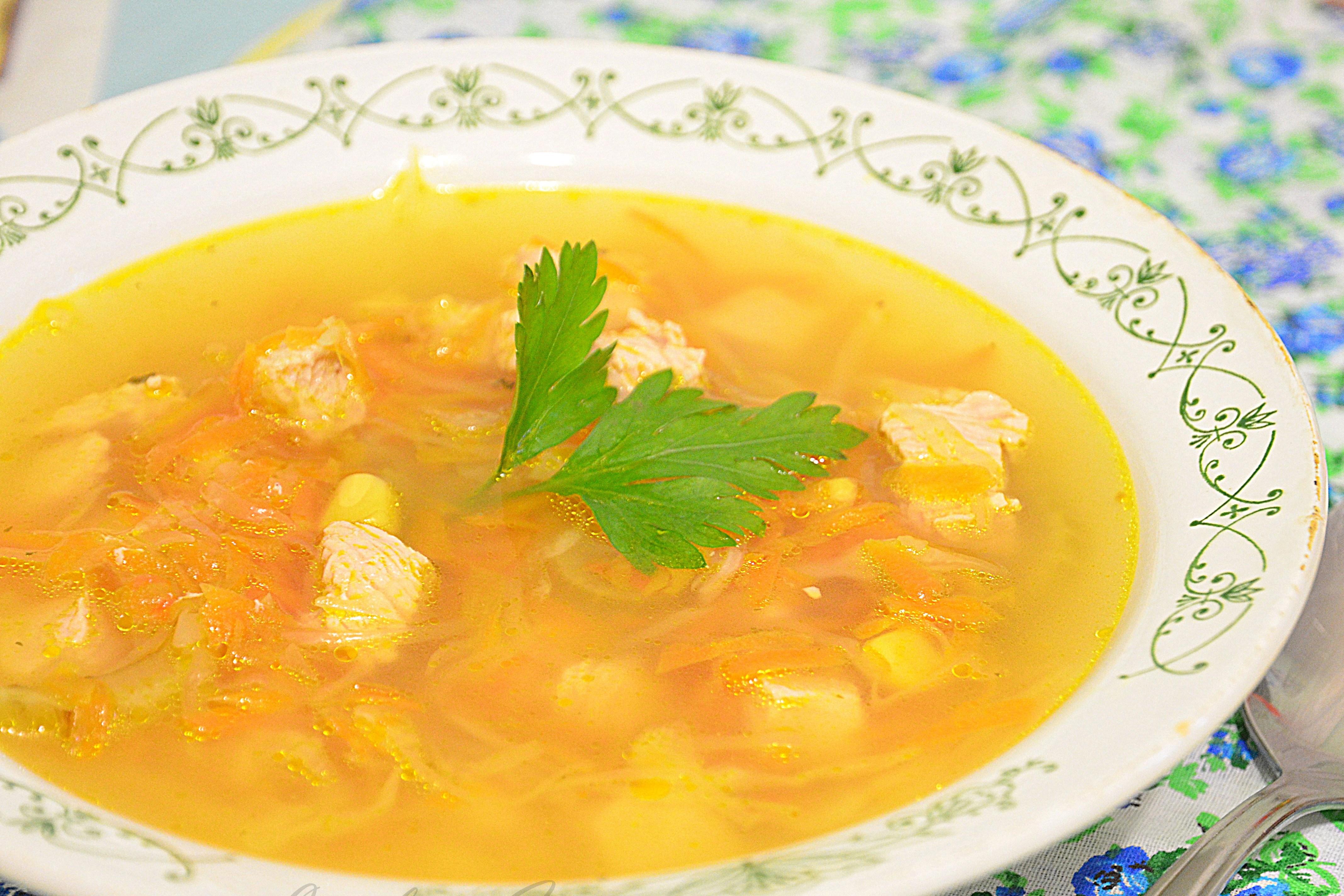 Как сварить вкусный рисовый суп с мясом