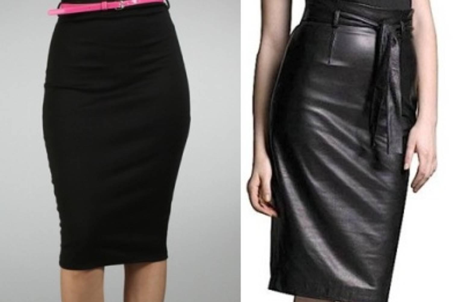 Мода на юбки солнце, карандаш и трапециевидные юбки