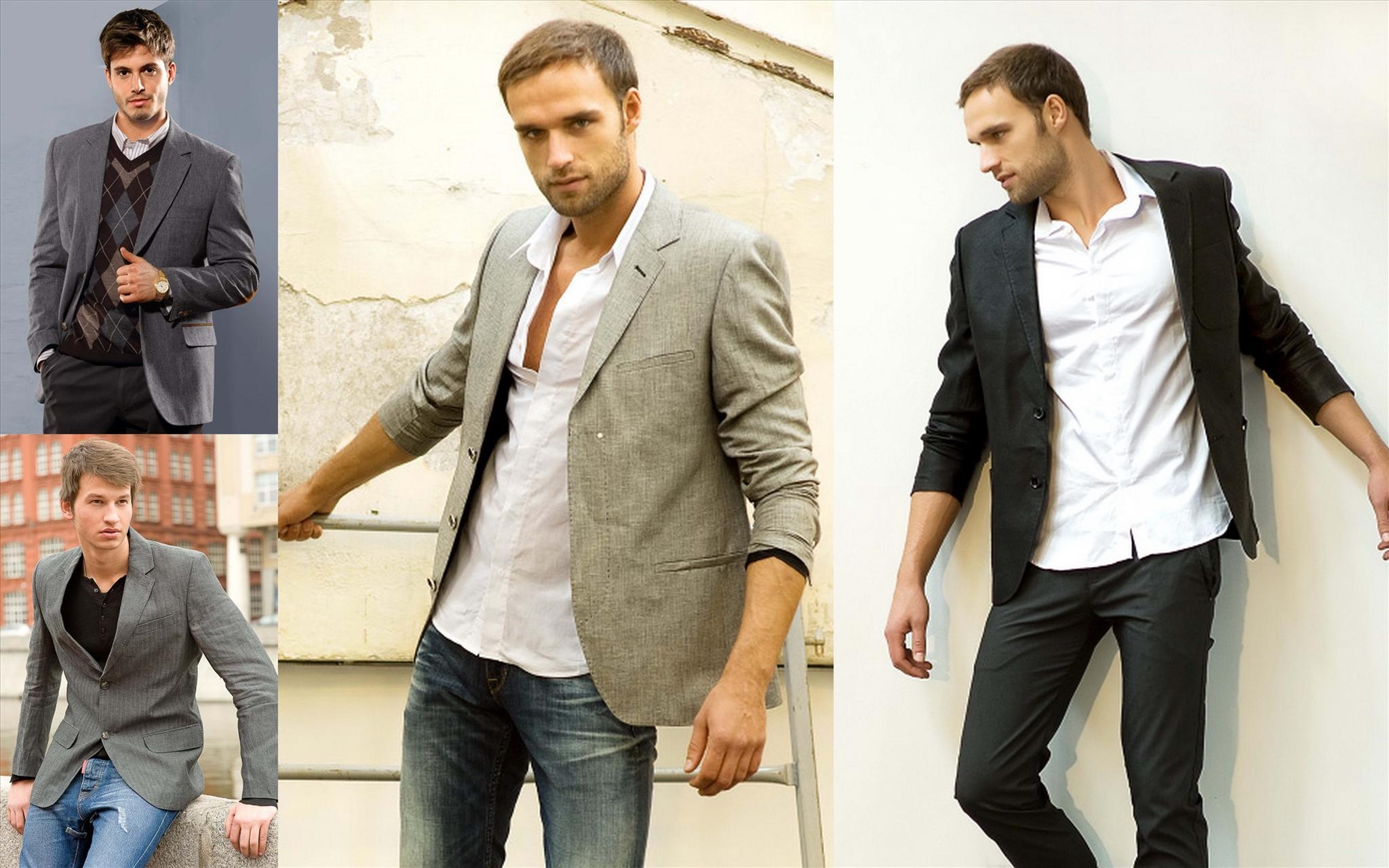 Пиджаки мужские под джинсы Мужской Журнал Мод 55