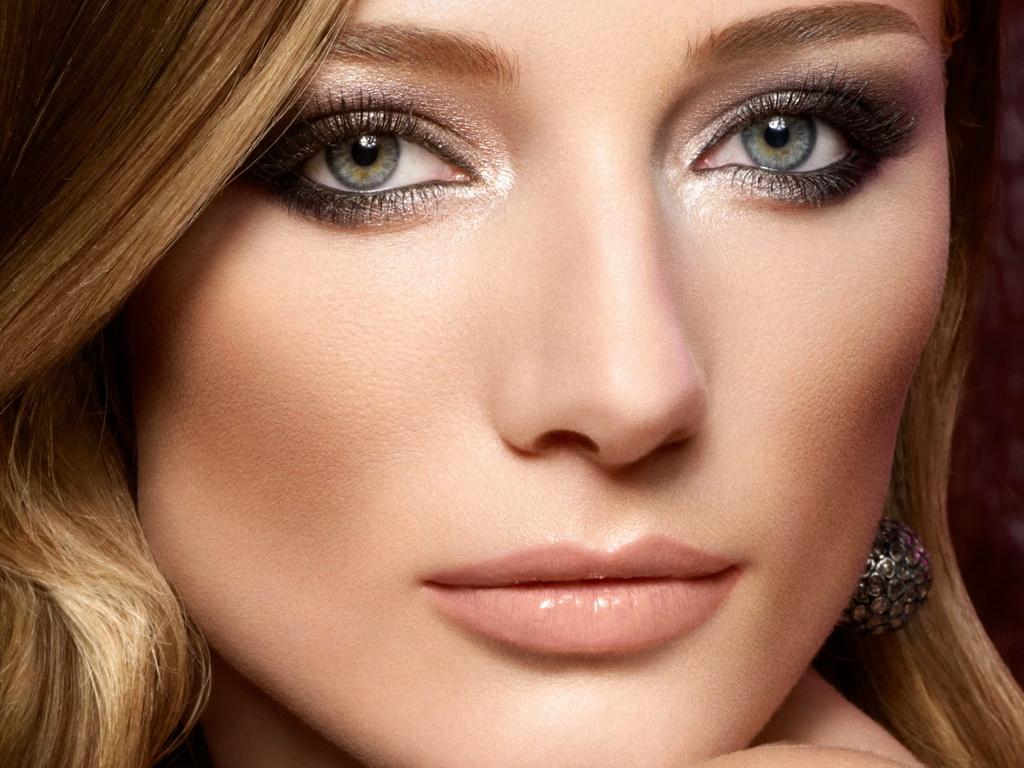 Модный макияж в 2016 году для зеленых глаз