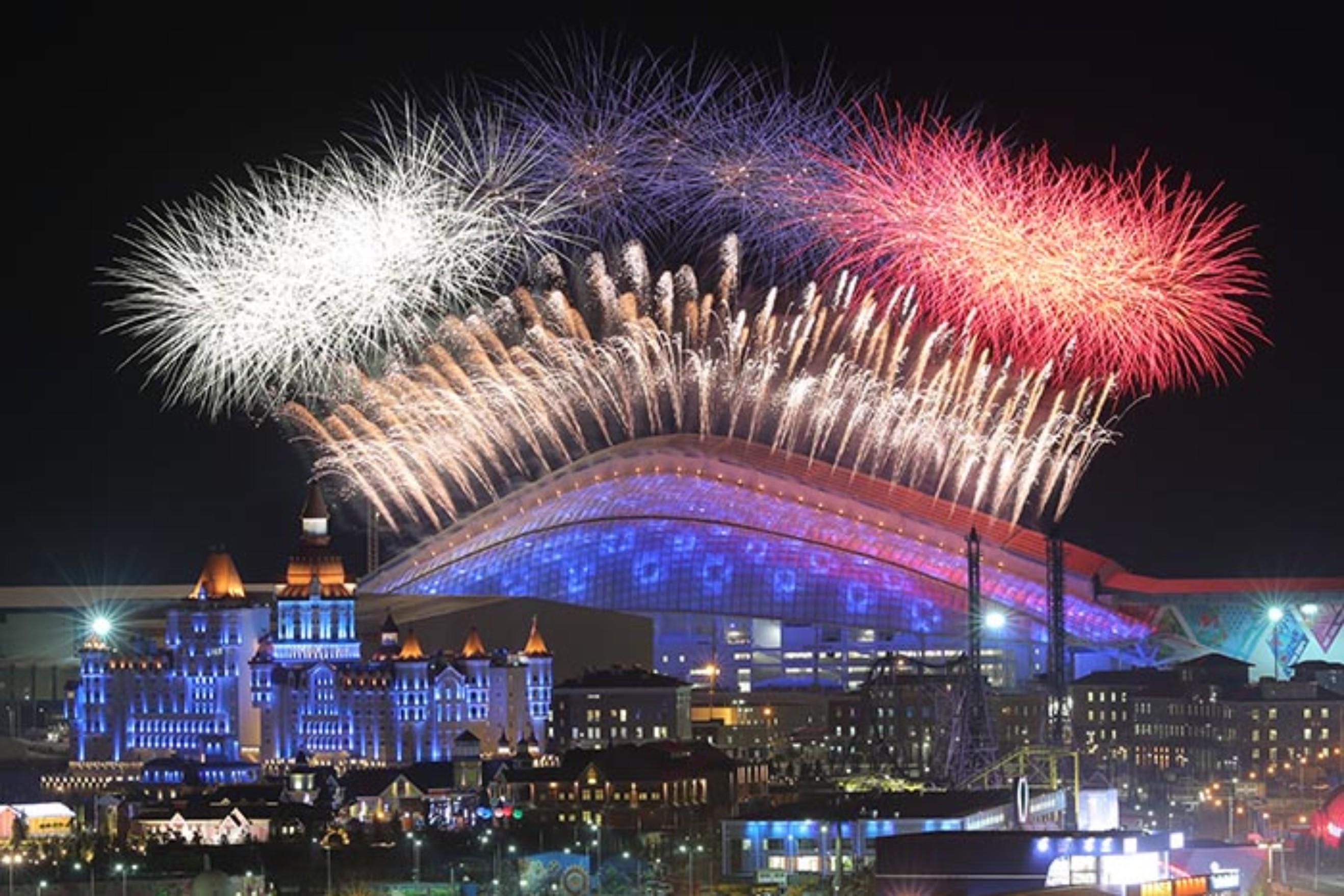 Новый год в Адлере 2017