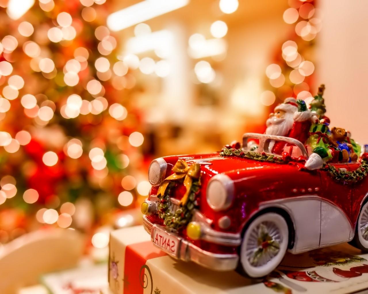 Новогодний авто подарок