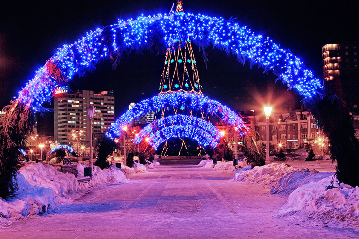 Новый год 2017 в Казани