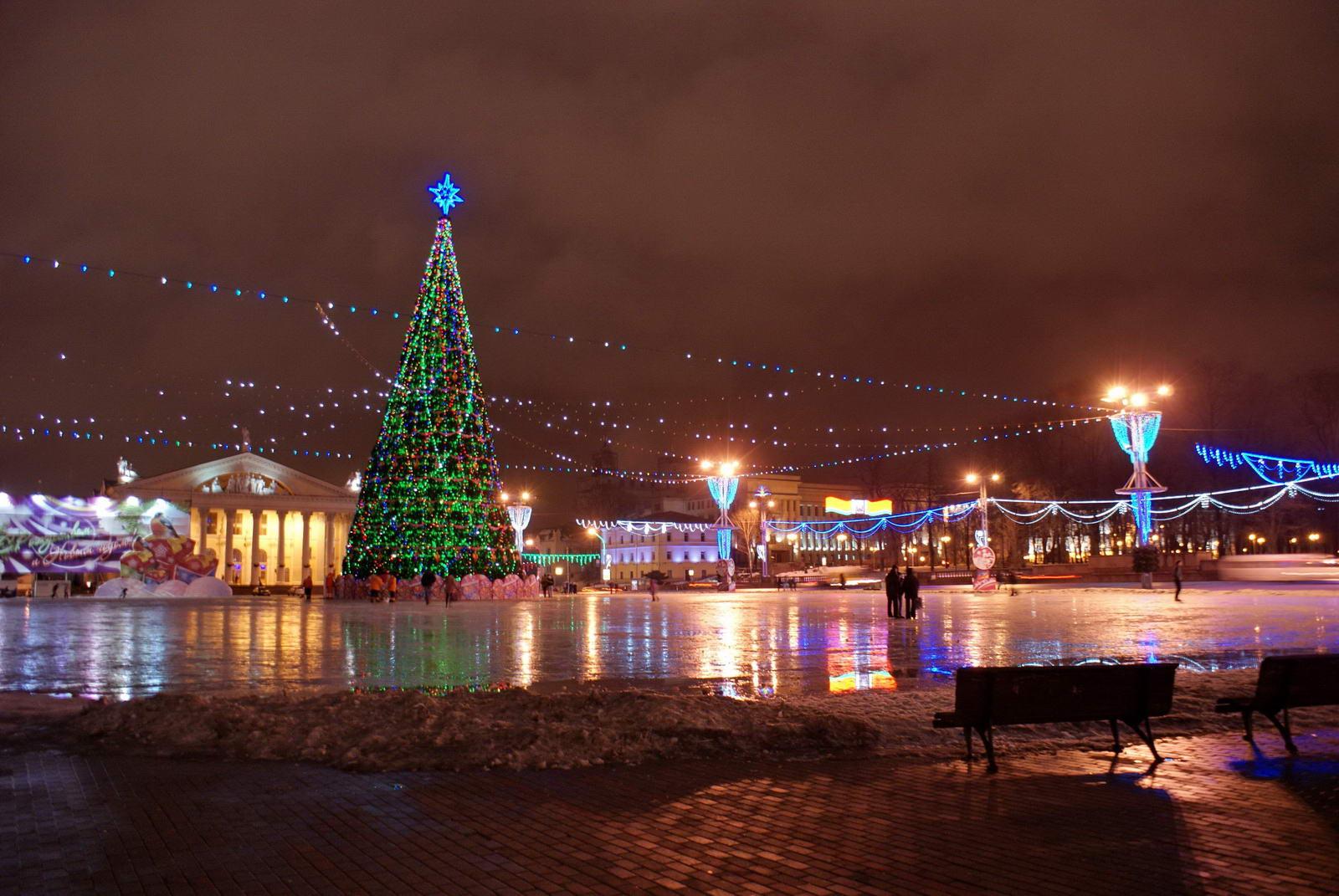 Новый год 2017 в Минске