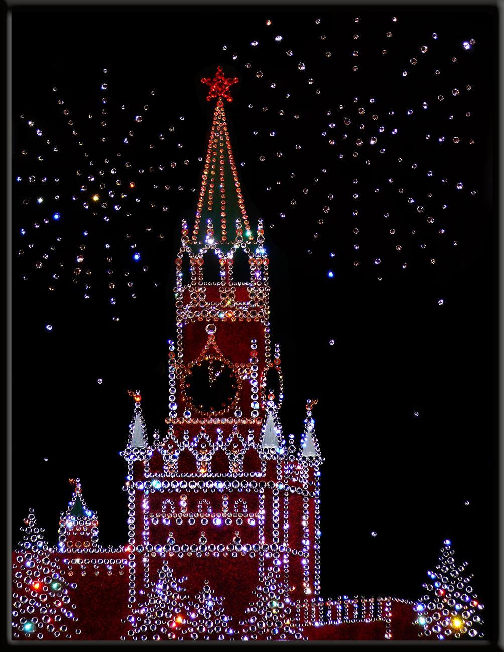 Как празднуют новый год на Красной площади