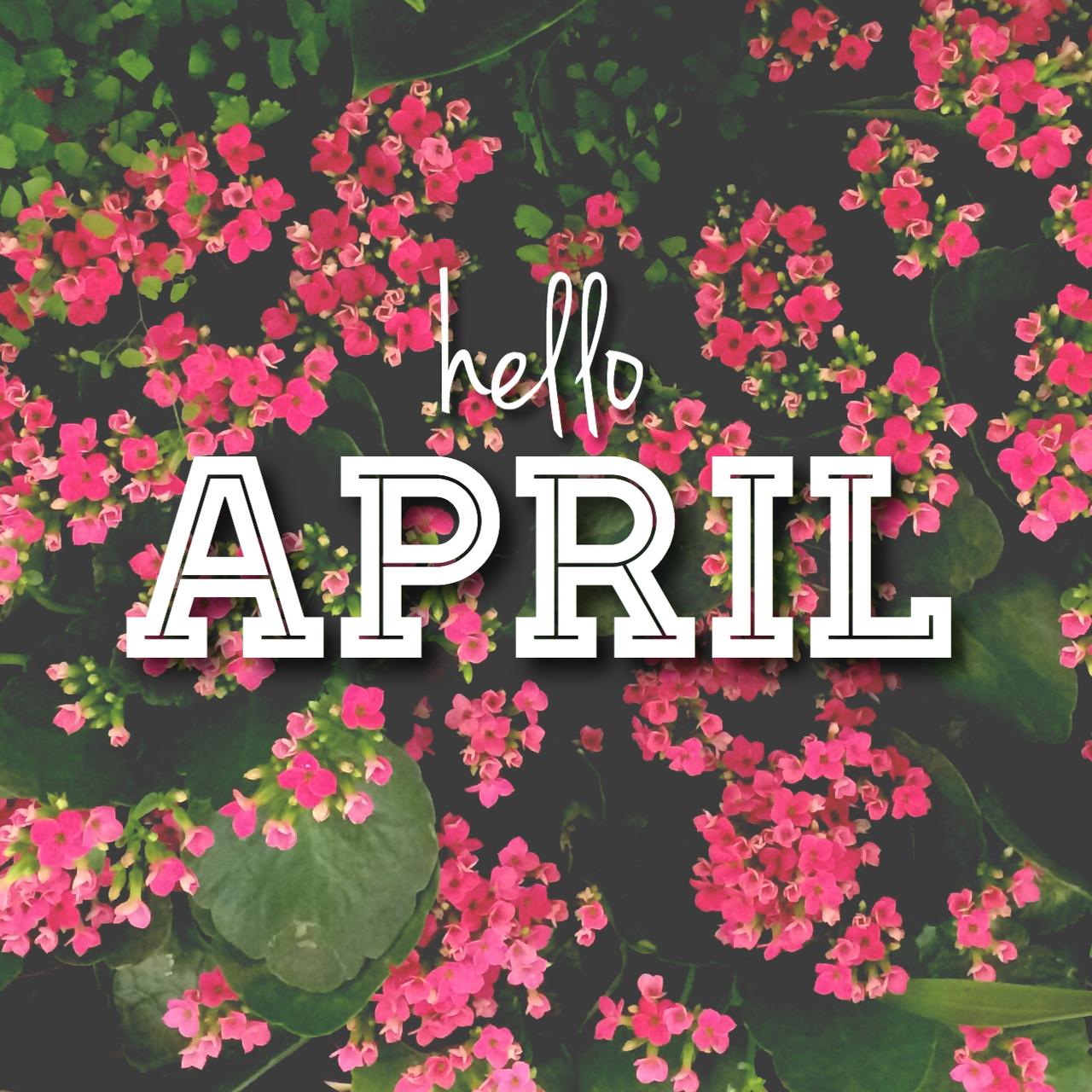 Красивые картинки с надписью апрель, открытки днем
